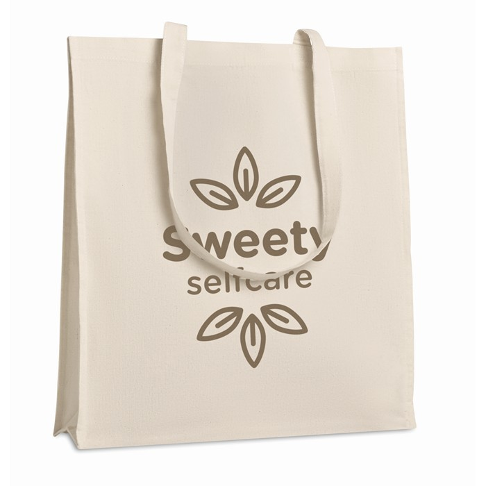 Promotional Shopping Bag With Gusset