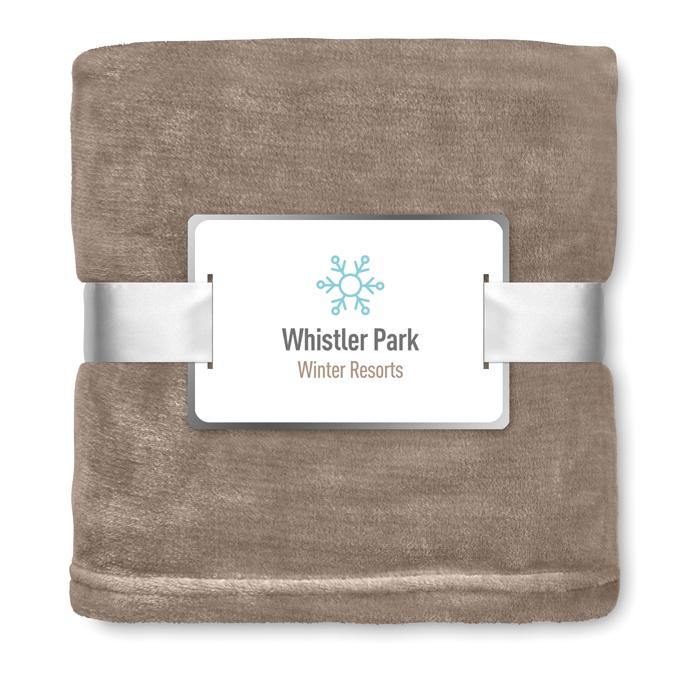 Custom Corporate blankets Blanket flannel