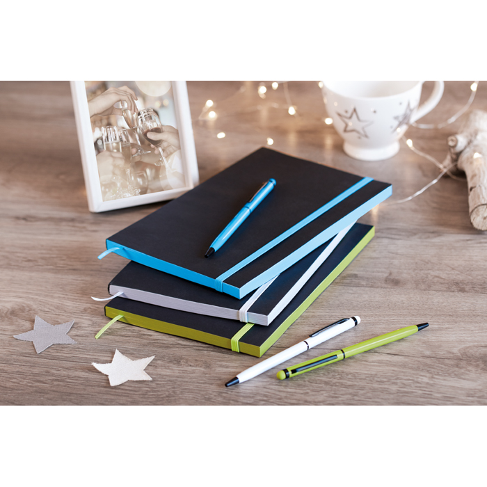 Promotional A5 Paper cover notebook lined