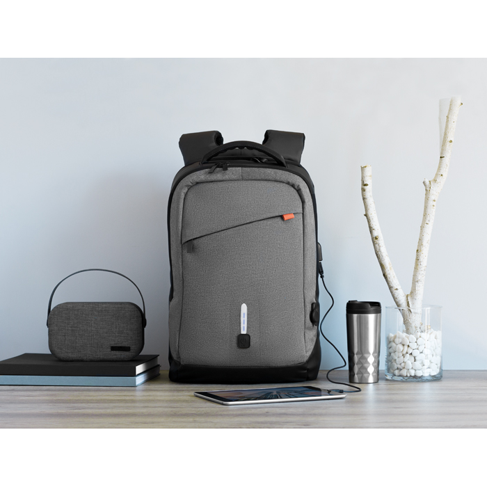 Promotional Backpack & power bank