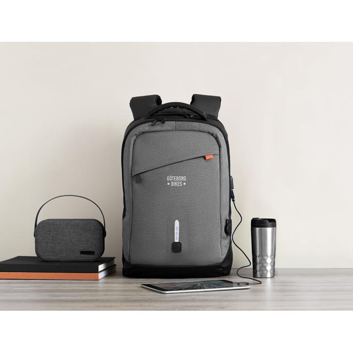 Branded Backpack & power bank