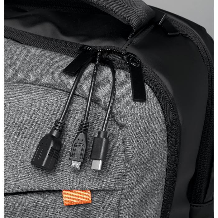 Printed Corporate powerbanks Backpack & power bank