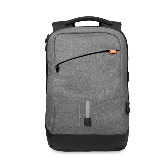 Printed Backpack & power bank