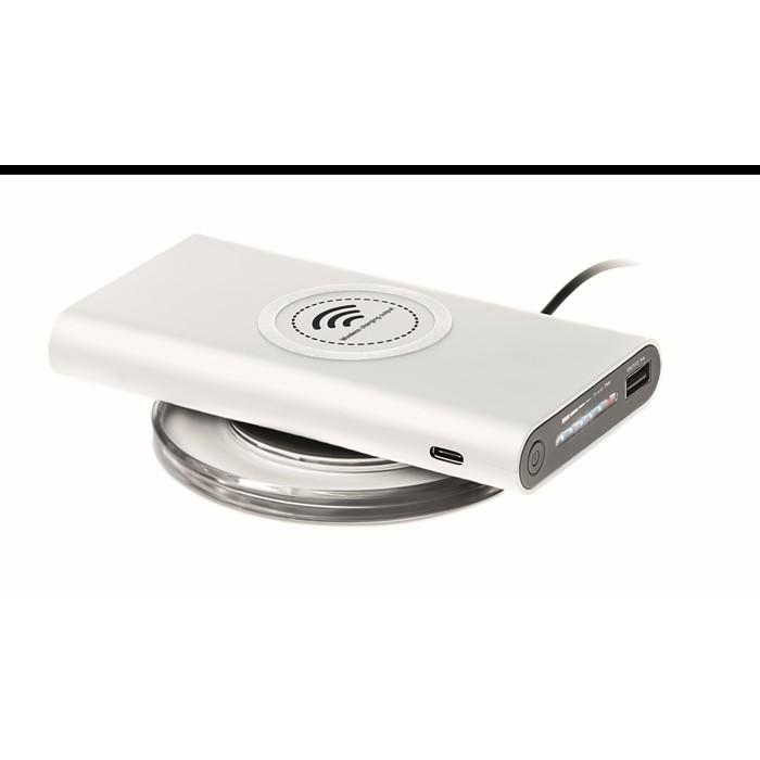 Printed Personalised powerbanks Wireless power bank Type C