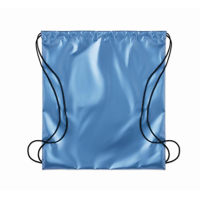 Promotional Drawstring bag shiny coating