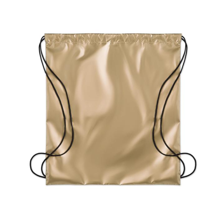 Printed Personalised drawstring bags Drawstring bag shiny coating