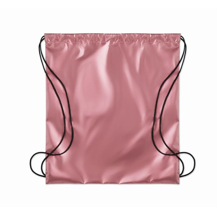 Printed Drawstring bag shiny coating