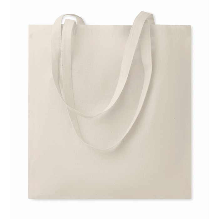 Branded Cotton shopping bag 140gsm