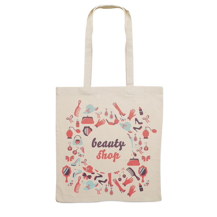 Corporate Cotton shopping bag 140gsm