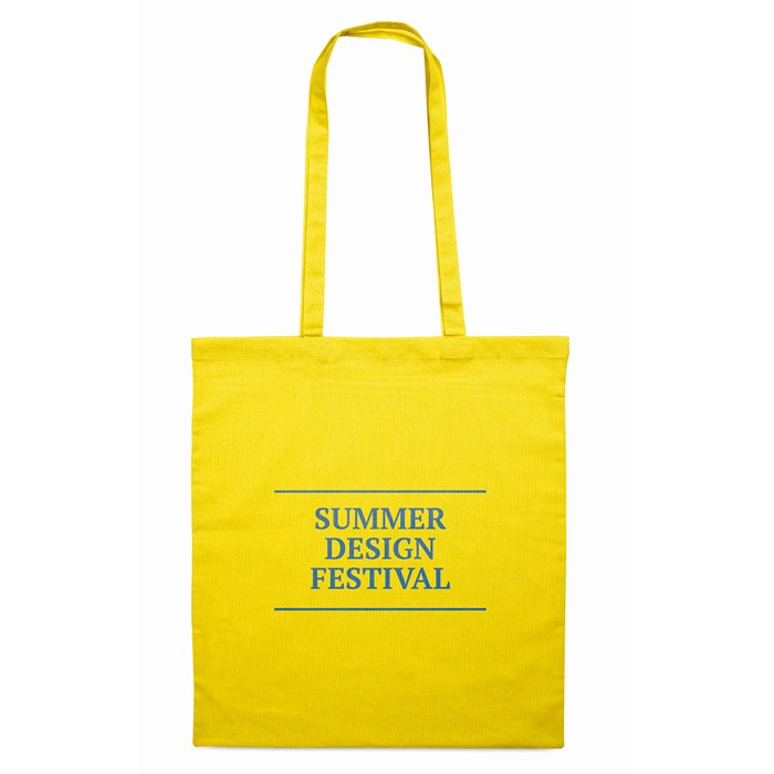 Branded Corporate shopping bags Cotton shopping bag 140gsm