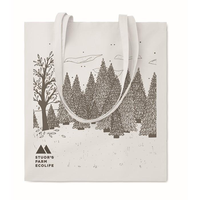 ImPrinted Cotton shopping bag 140gsm