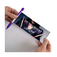 Promotional banner pens