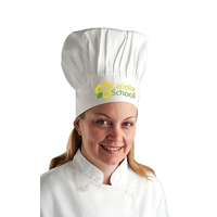 Promotional chefs hats