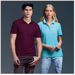 Promotional polos and casual