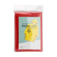 Promotional ponchos