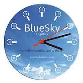 Printed Brite Clock Wall Clocks